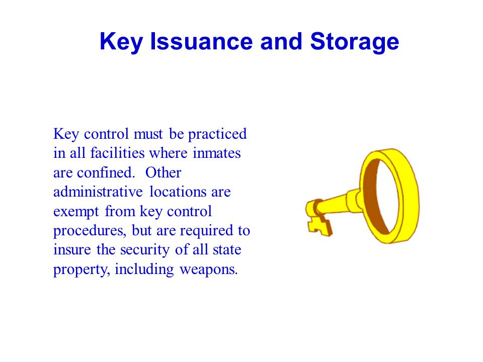 Key Issuance and Storage