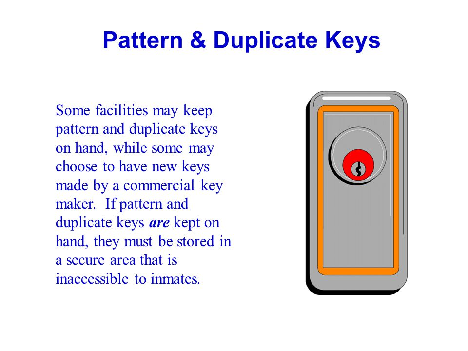 Pattern & Duplicate Keys