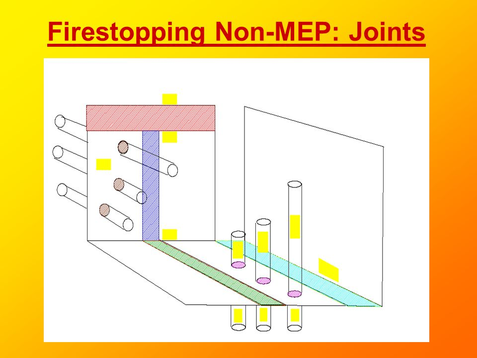 Firestopping Non-MEP: Joints
