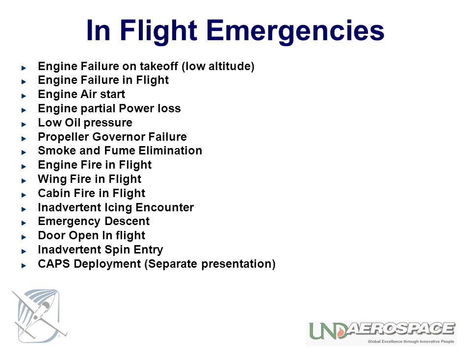 In Flight Emergencies Engine Failure on takeoff (low altitude)