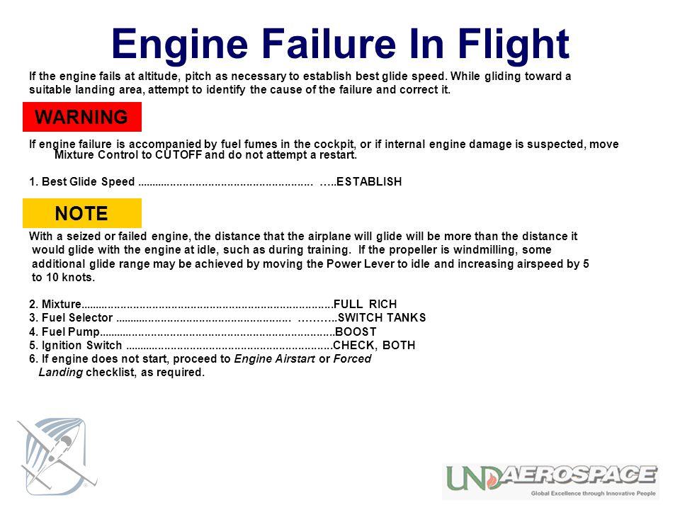 Engine Failure In Flight