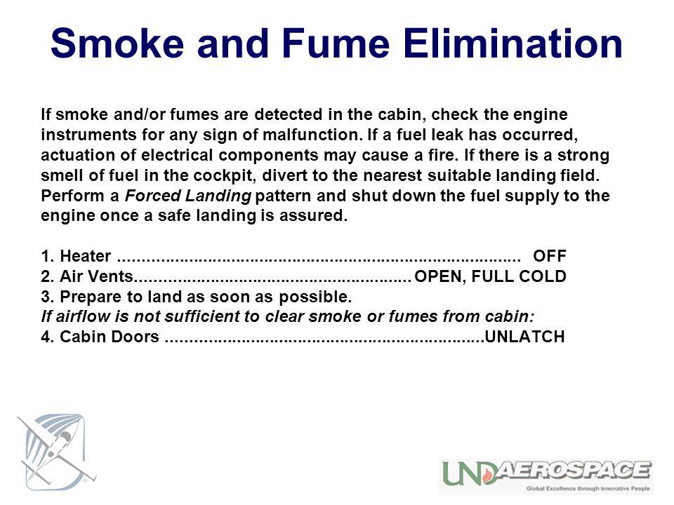 Smoke and Fume Elimination