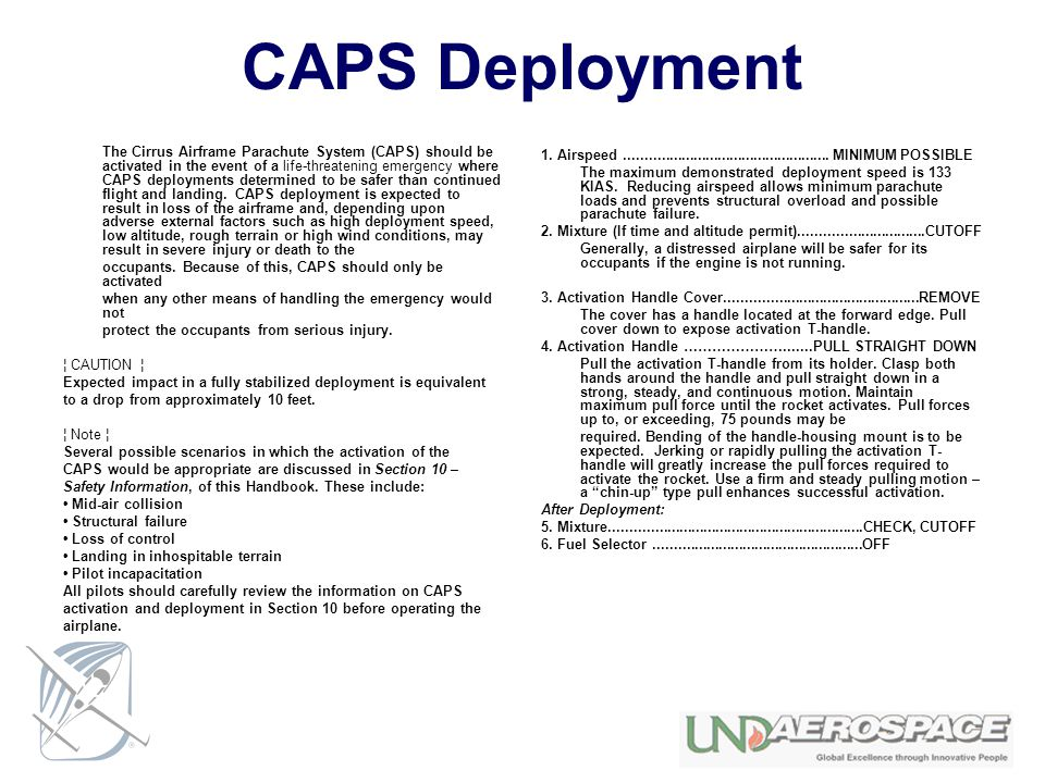 CAPS Deployment