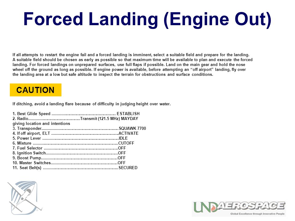 Forced+Landing+%28Engine+Out%29 emergency and abnormal procedures ppt download elect wiring diagram at mifinder.co