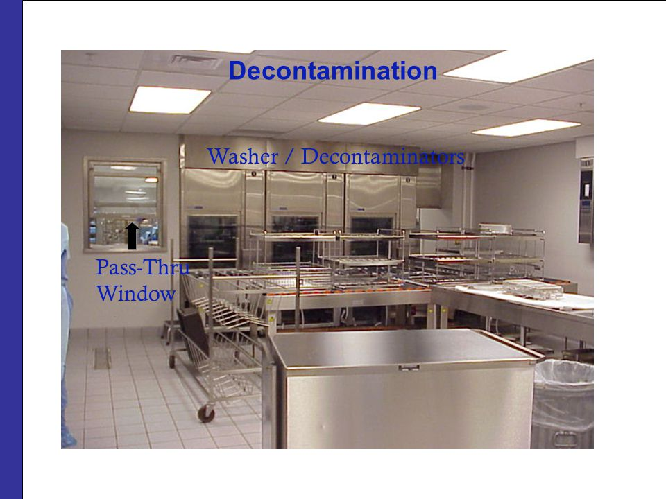 Decontamination Washer / Decontaminators Pass-Thru Window