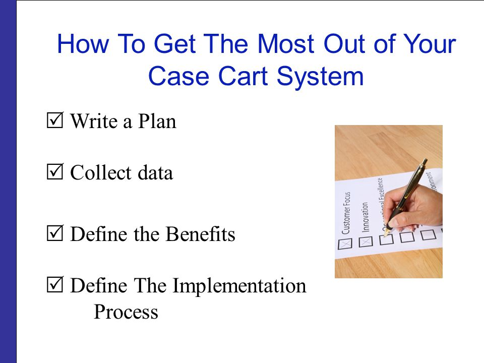 How To Get The Most Out of Your Case Cart System