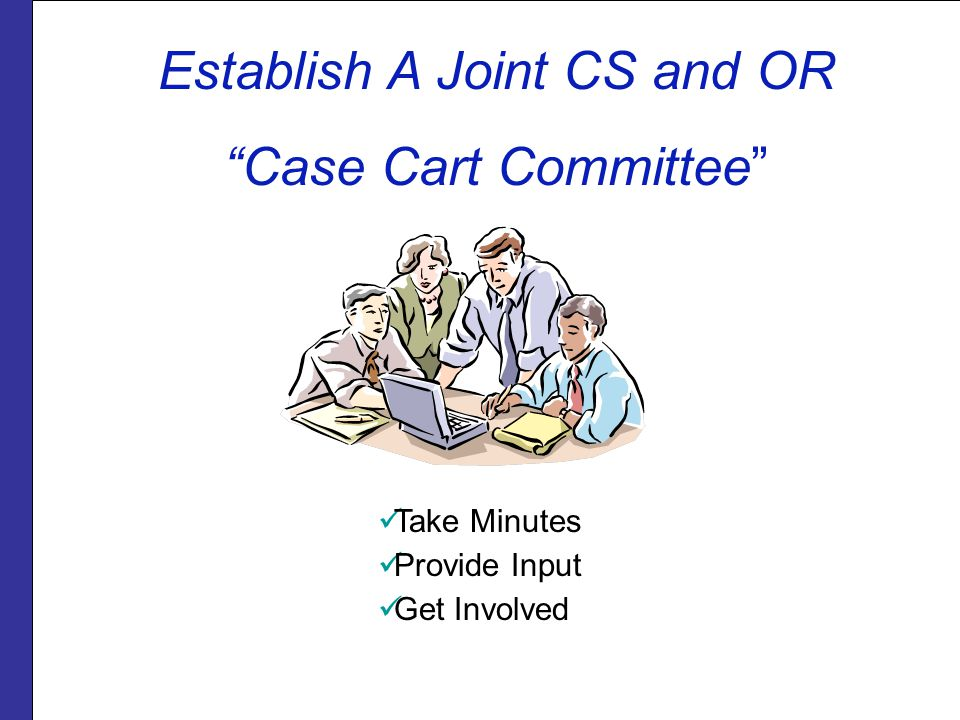 Establish A Joint CS and OR