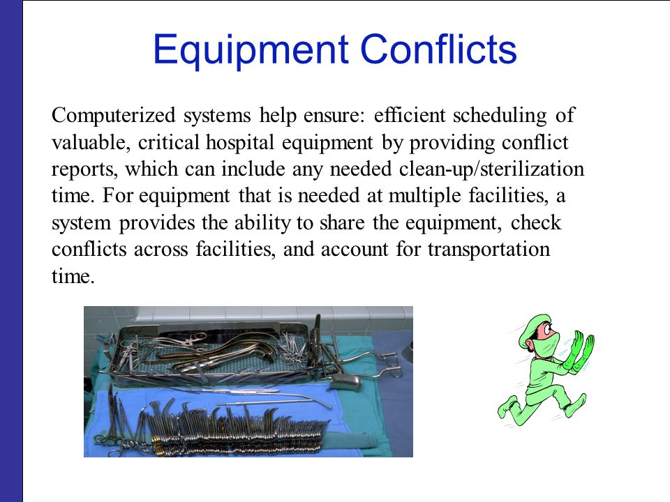 Equipment Conflicts