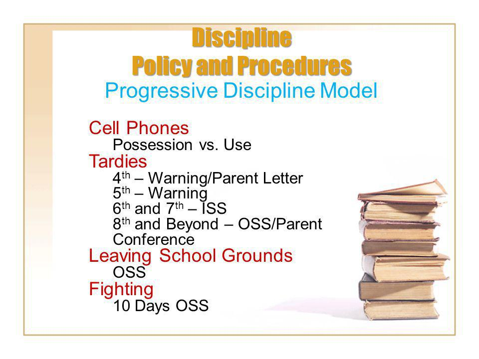 Discipline Policy and Procedures