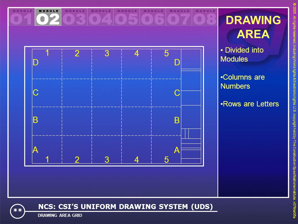 DRAWING AREA 1 2 3 4 5 A B C D A B C D 1 2 3 4 5 Divided into Modules