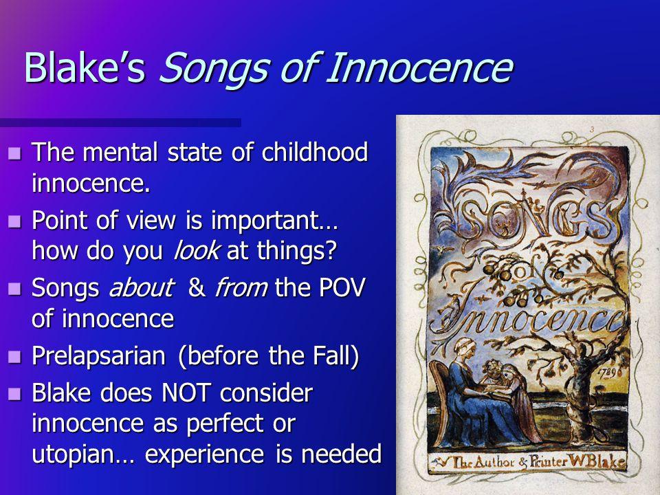 Blake's Songs of Innocence