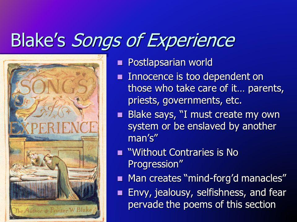 Blake's Songs of Experience