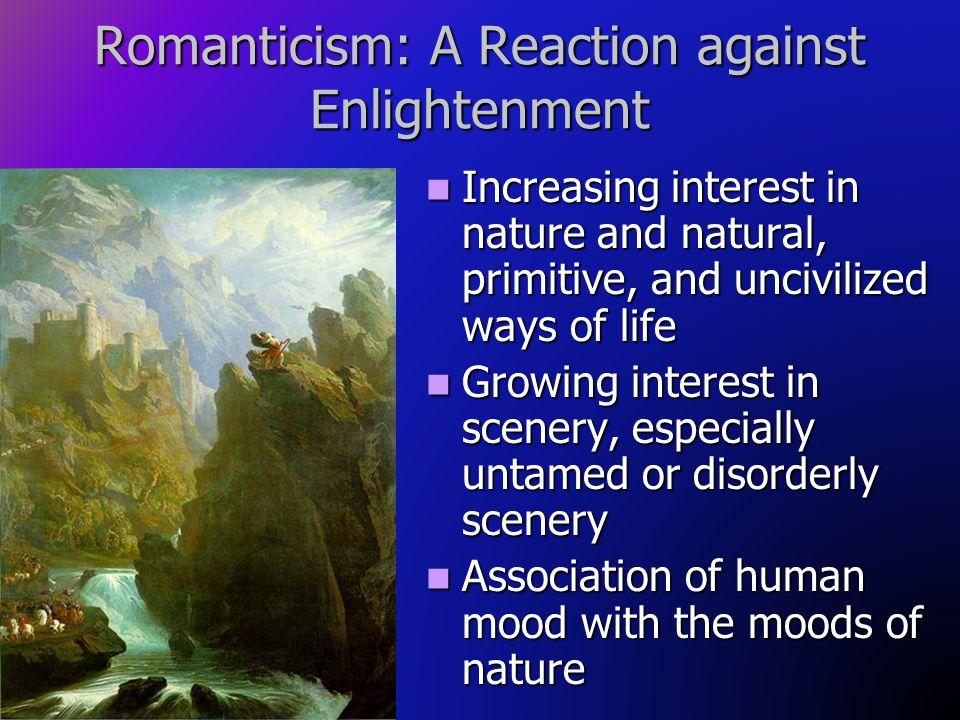 Romanticism: A Reaction against Enlightenment
