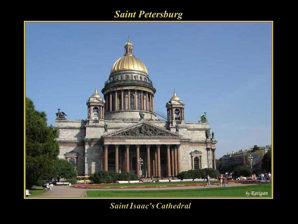 Saint Petersburg Saint Isaac s Cathedral