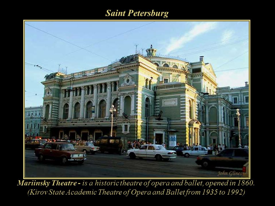 (Kirov State Academic Theatre of Opera and Ballet from 1935 to 1992)