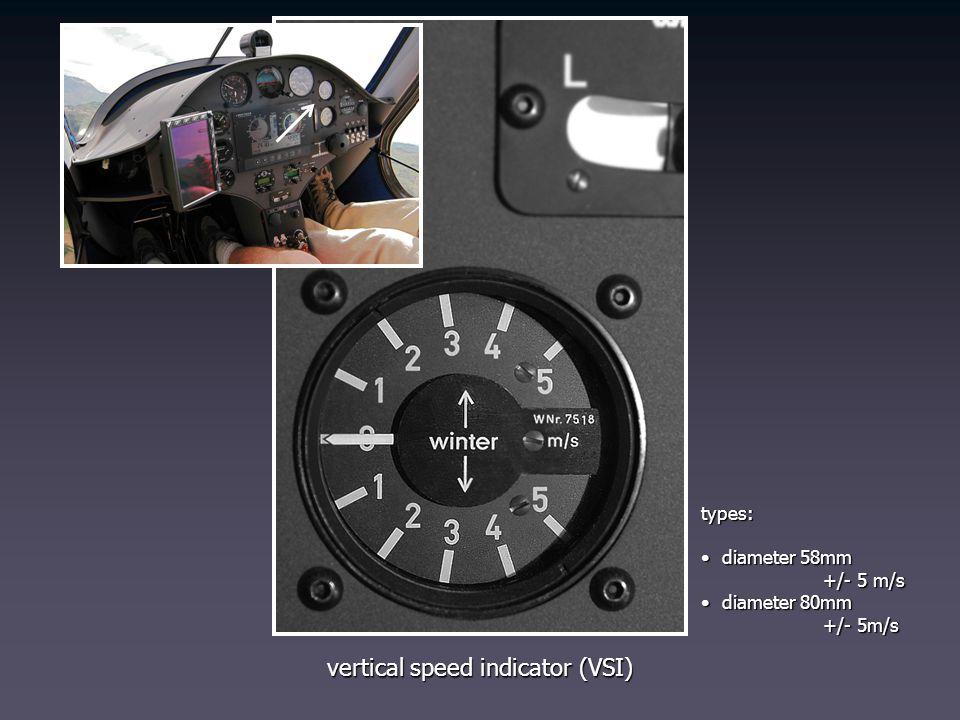 vertical speed indicator (VSI)