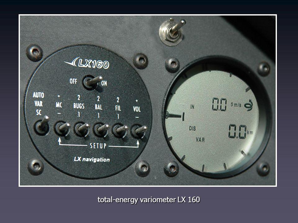 total-energy variometer LX 160