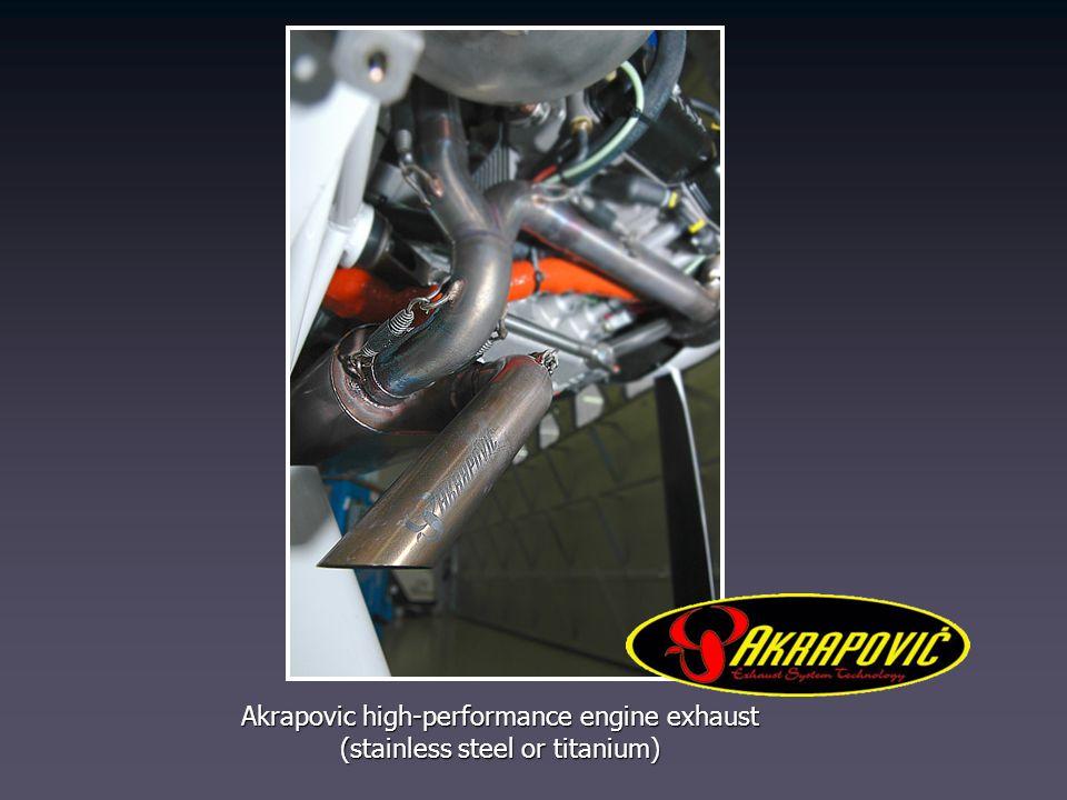 Akrapovic high-performance engine exhaust