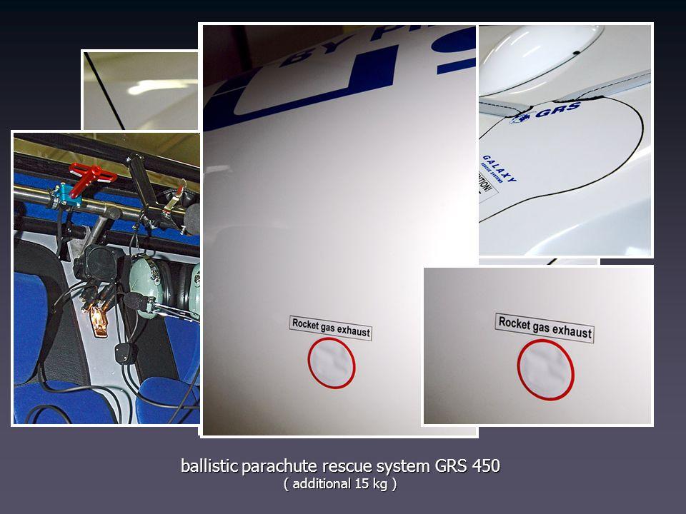 ballistic parachute rescue system GRS 450
