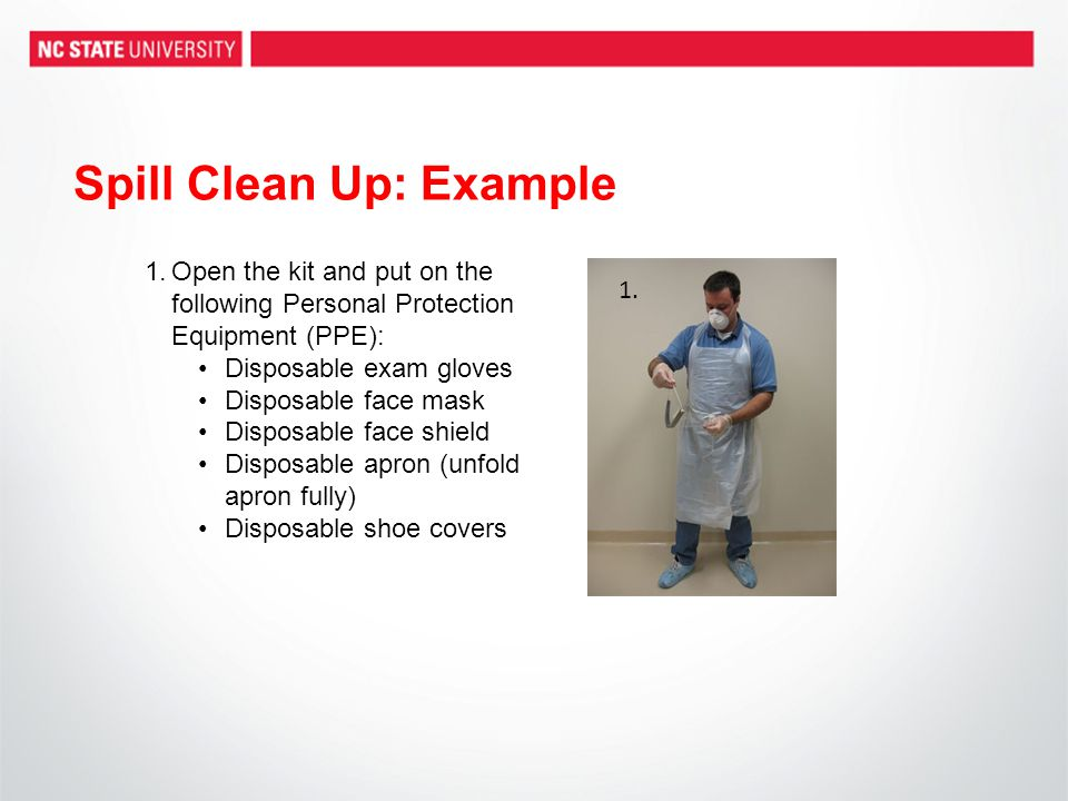 Spill Clean Up: Example