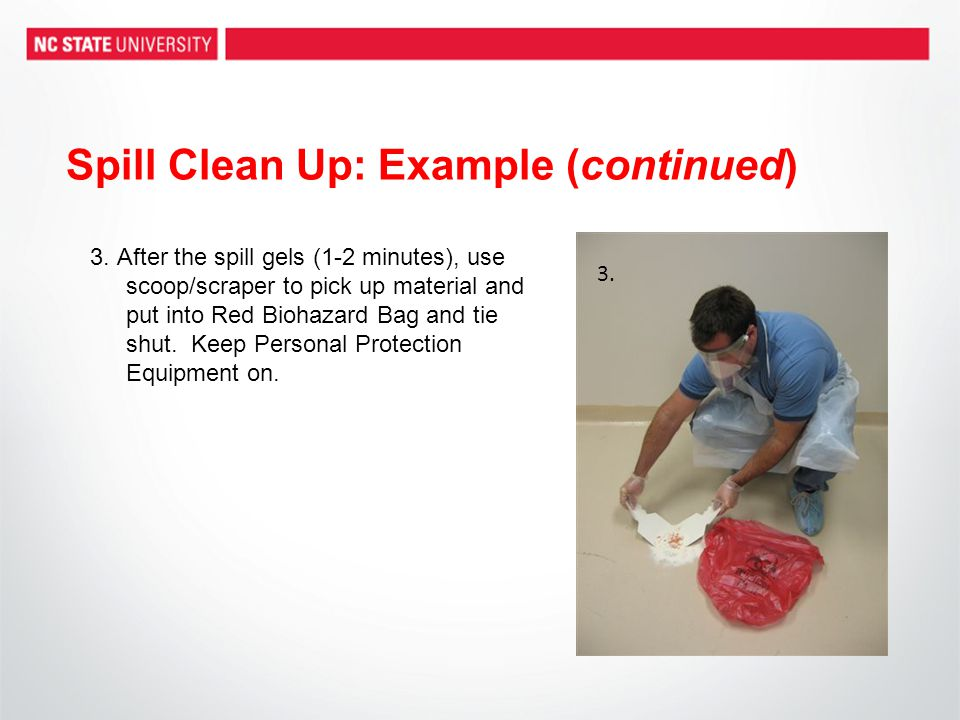Spill Clean Up: Example (continued)