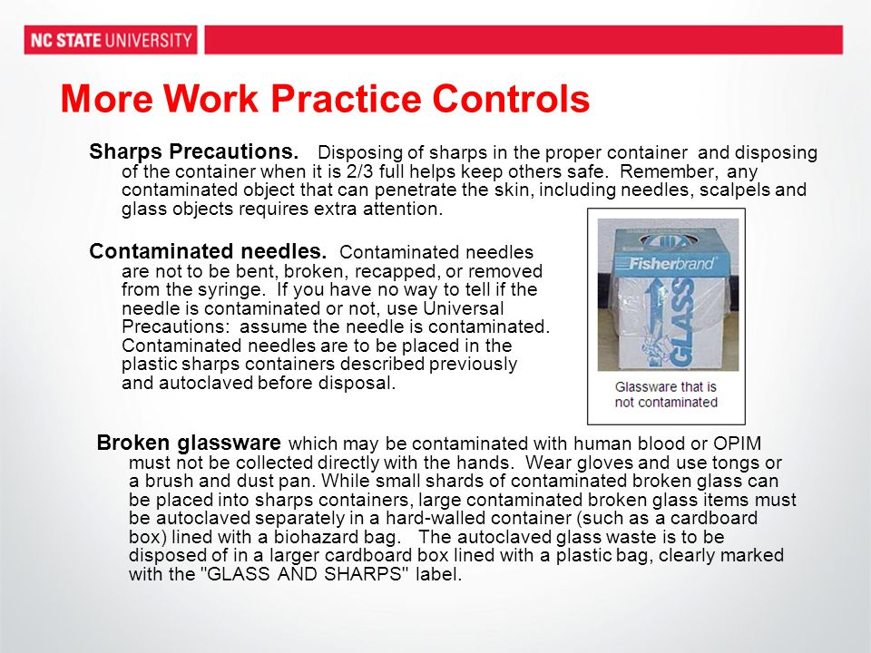 More Work Practice Controls