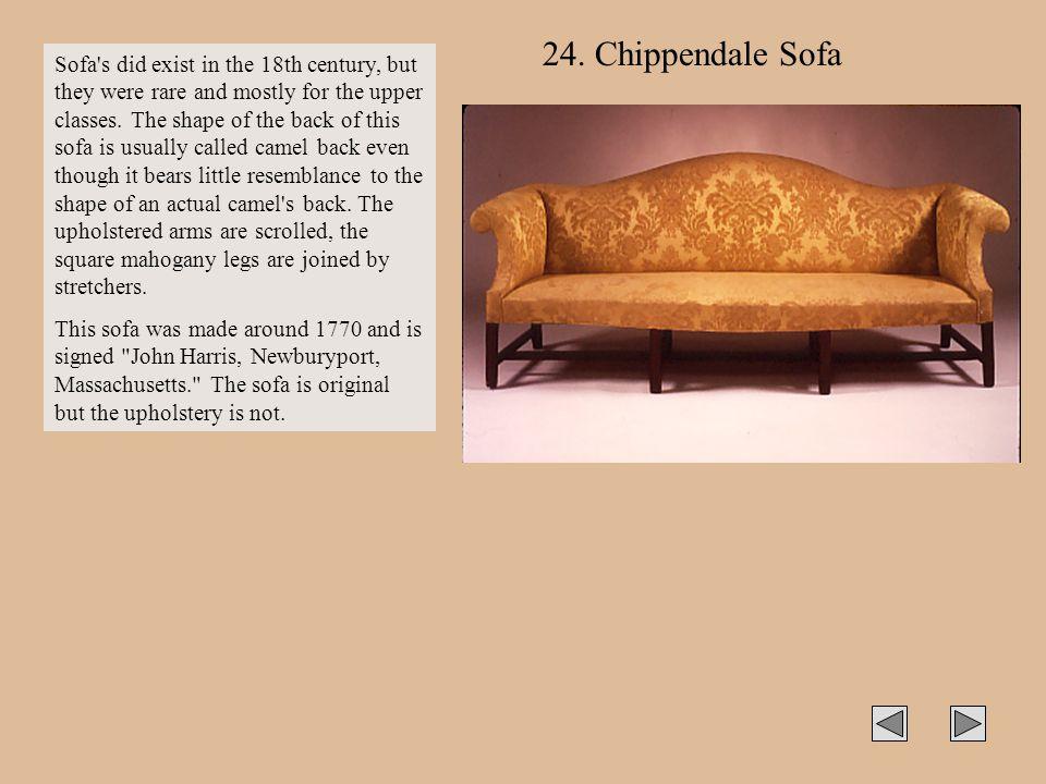 24. Chippendale Sofa