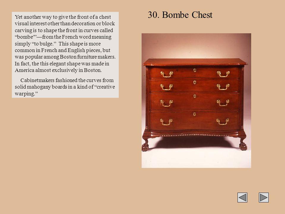 30. Bombe Chest