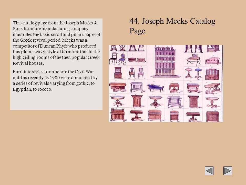 44. Joseph Meeks Catalog Page