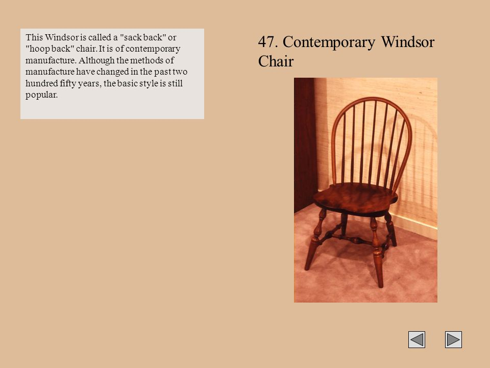 47. Contemporary Windsor Chair