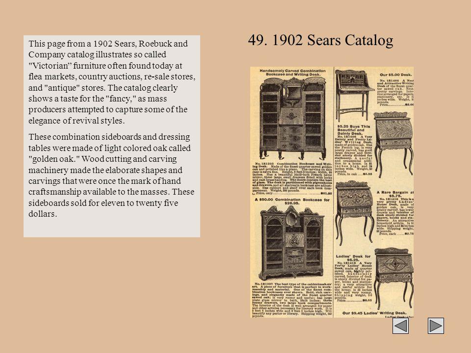 49. 1902 Sears Catalog
