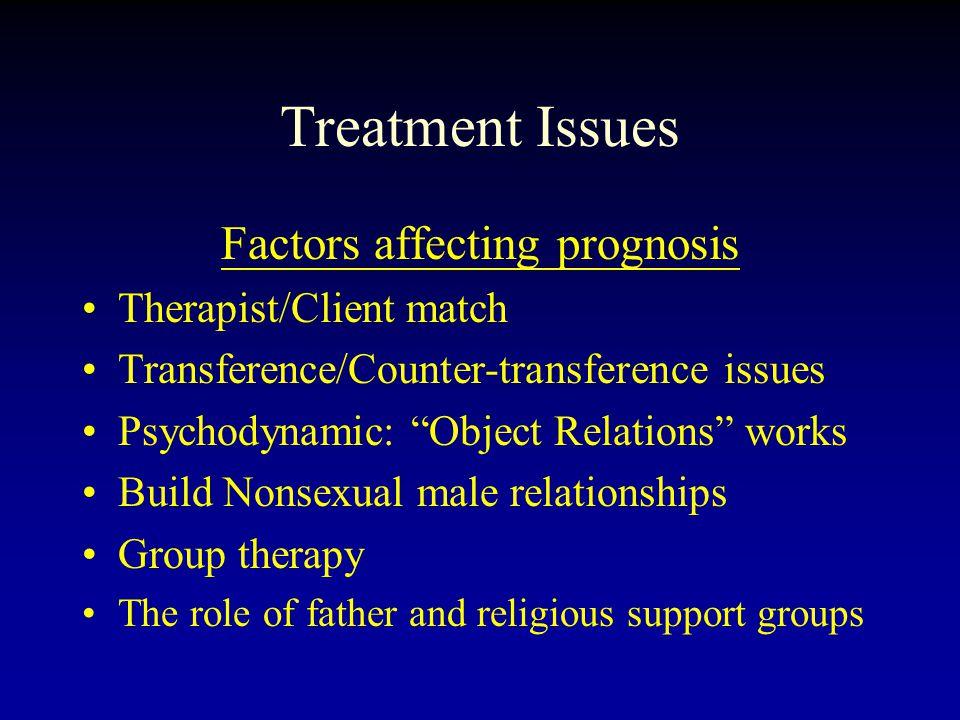 Factors affecting prognosis