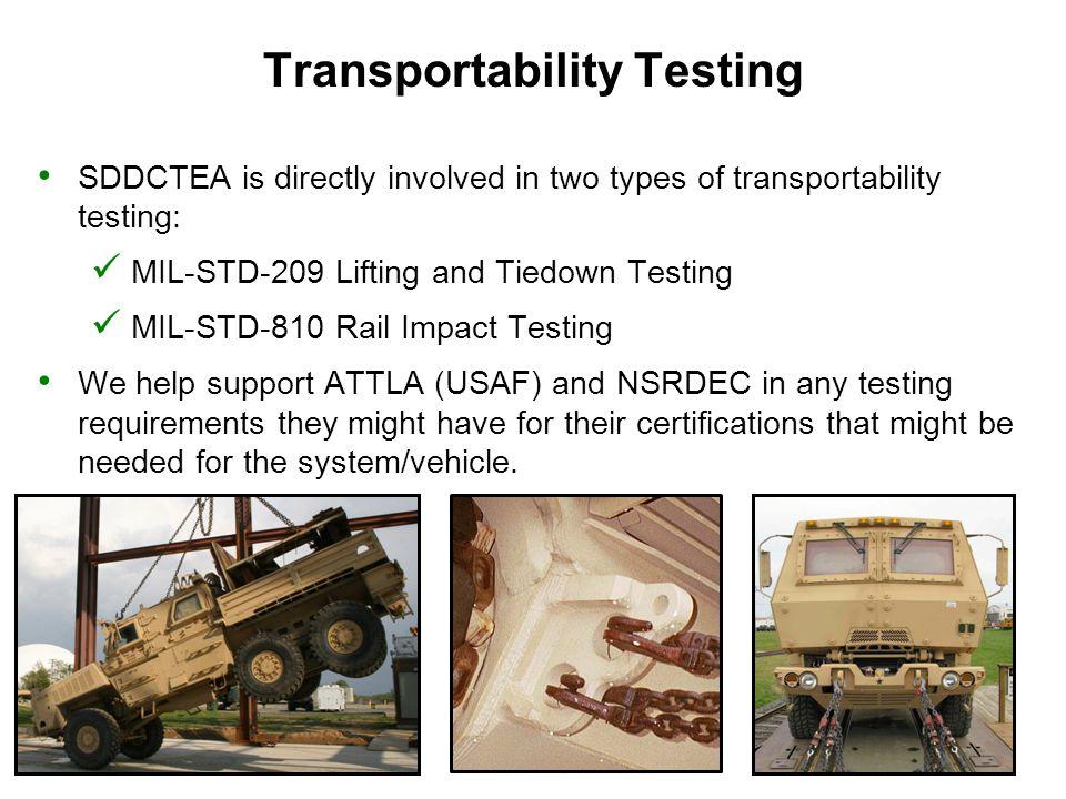 Transportability Testing