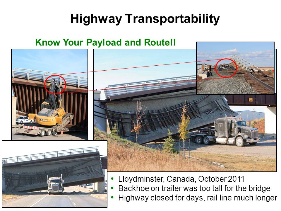 Highway Transportability Know Your Payload and Route!!