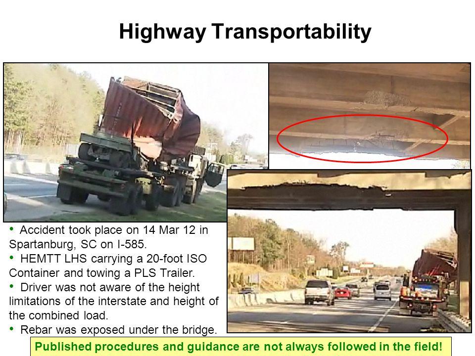 Highway Transportability