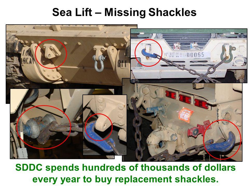 Sea Lift – Missing Shackles
