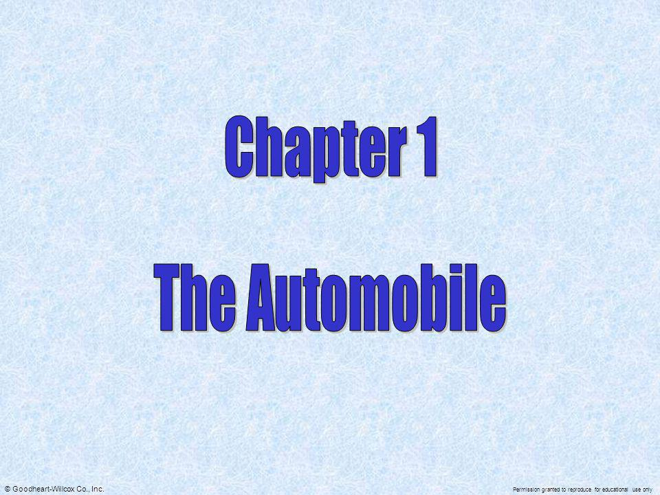 Chapter 1 The Automobile