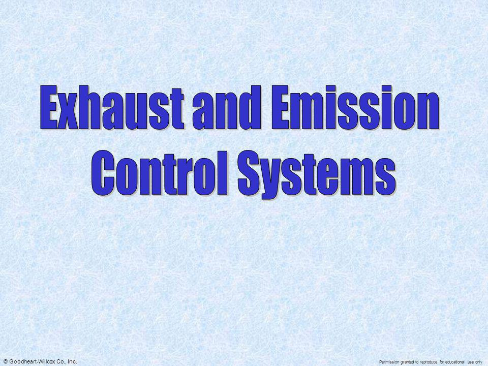 Exhaust and Emission Control Systems