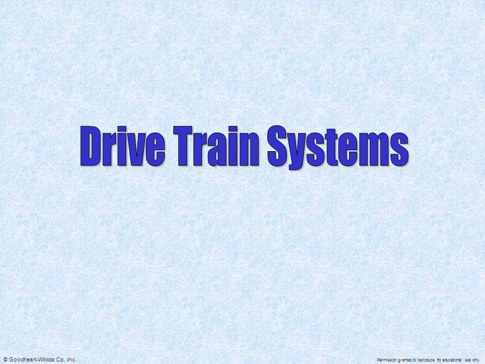 Drive Train Systems