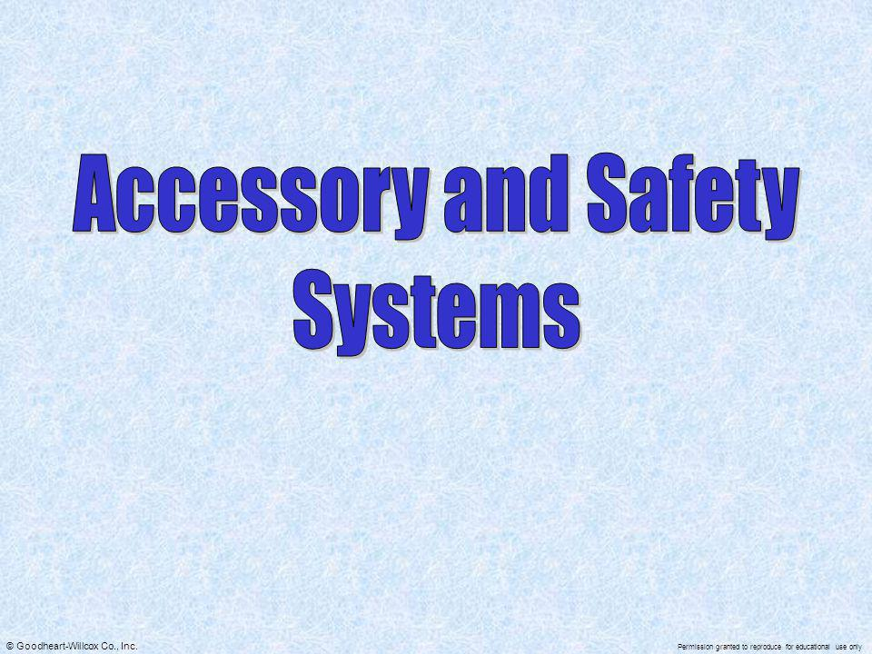 Accessory and Safety Systems