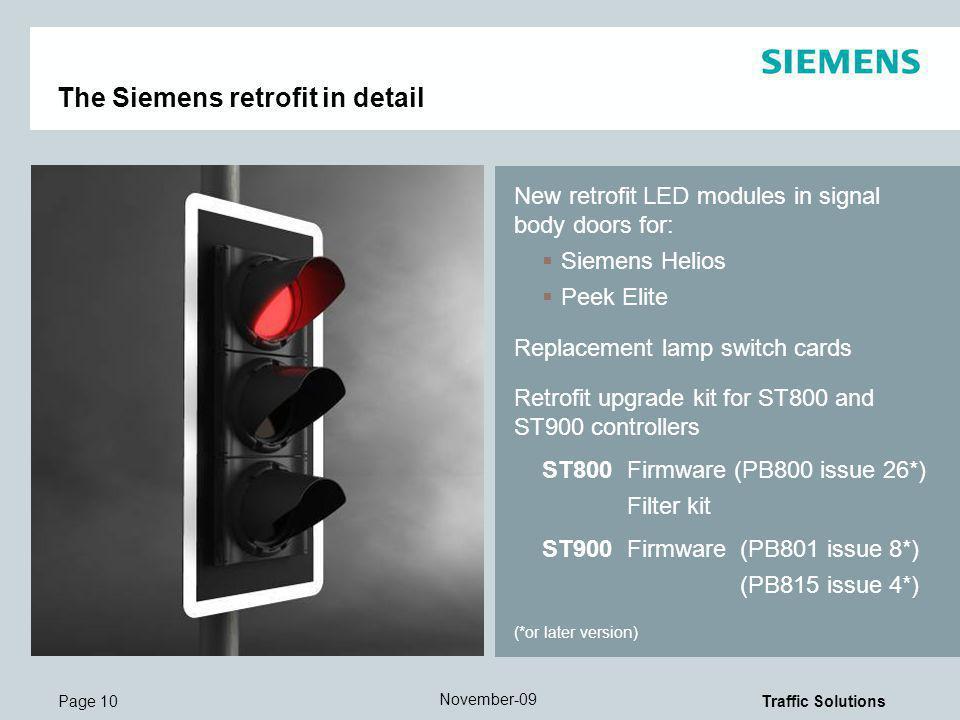 The Siemens retrofit in detail