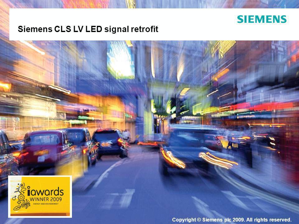 Siemens CLS LV LED signal retrofit