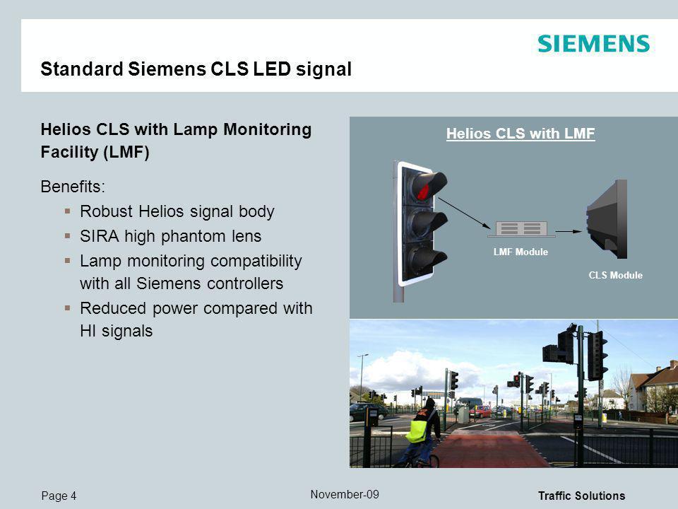 Standard Siemens CLS LED signal