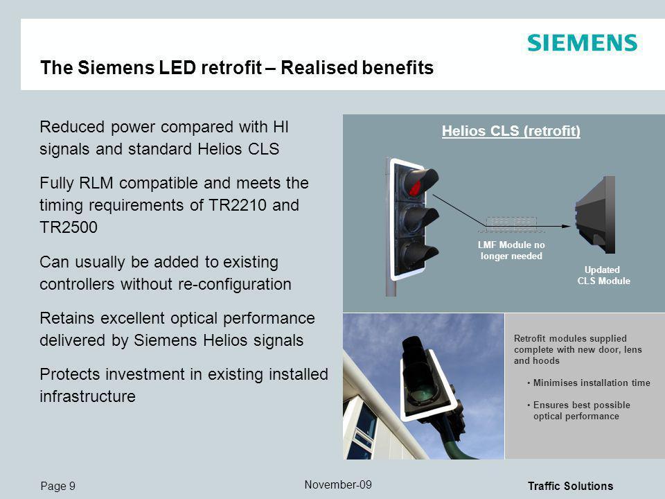 The Siemens LED retrofit – Realised benefits