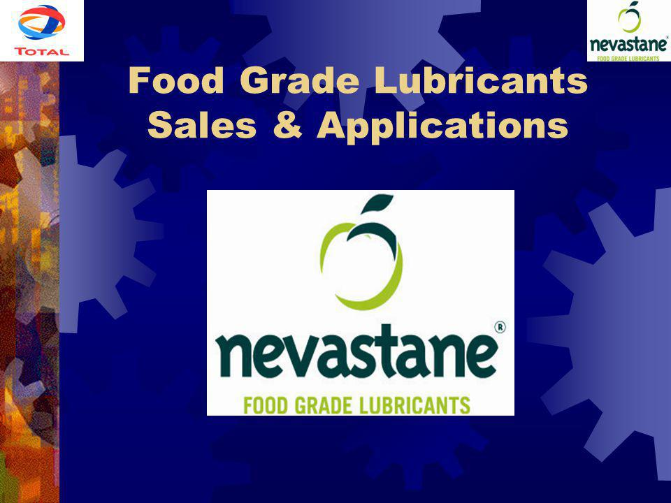 Food Grade Lubricants Sales & Applications