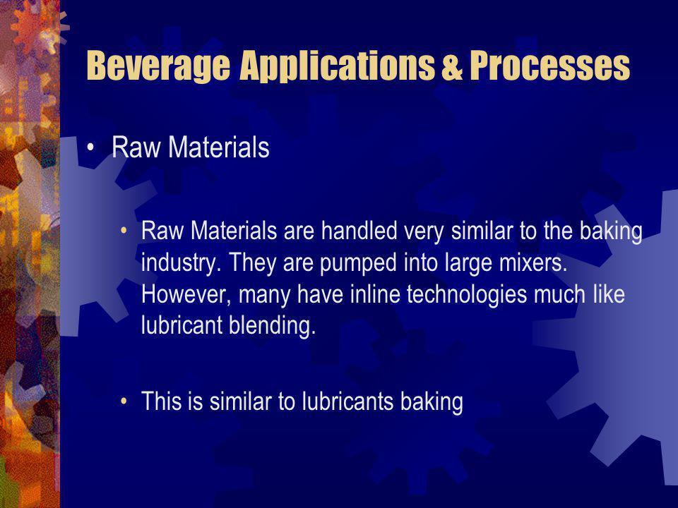 Beverage Applications & Processes