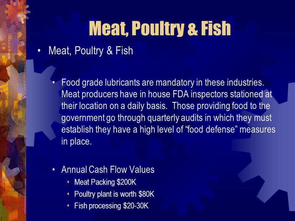 Meat, Poultry & Fish Meat, Poultry & Fish