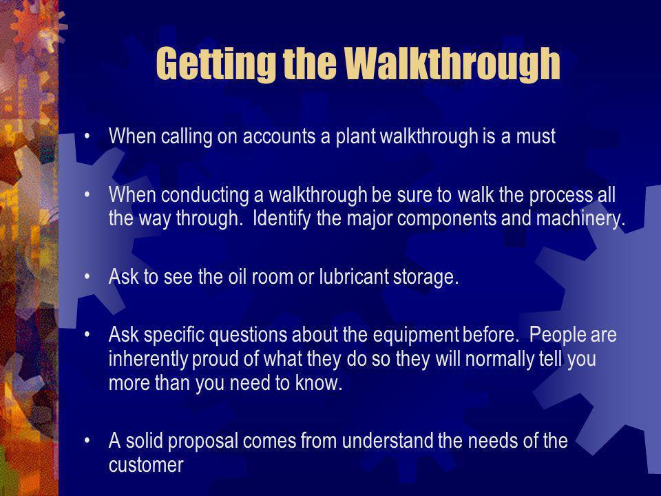 Getting the Walkthrough