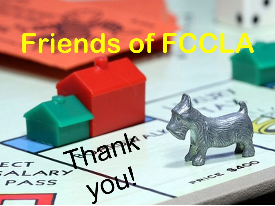 Friends of FCCLA Thank you!