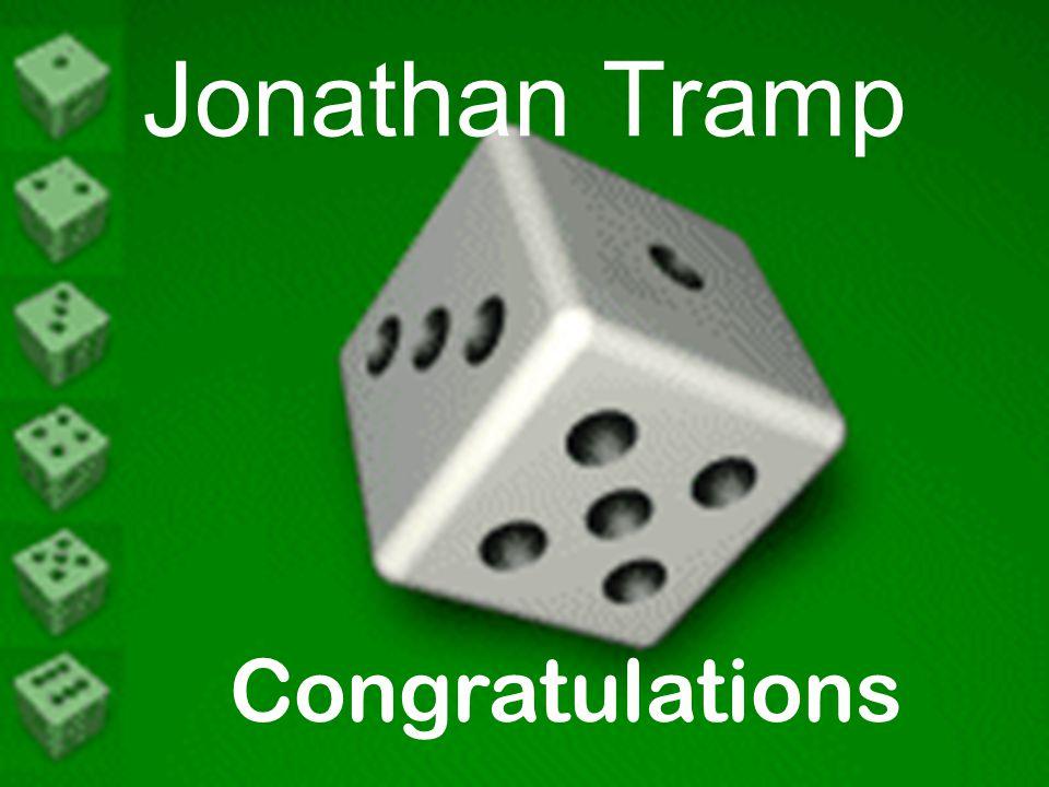 Jonathan Tramp Congratulations